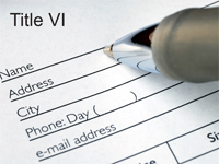 Click here to download Title VI documents.
